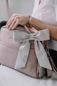 torba dla mamy różowa