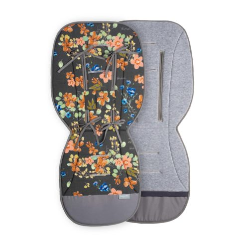wkładka do wózka w kwiaty