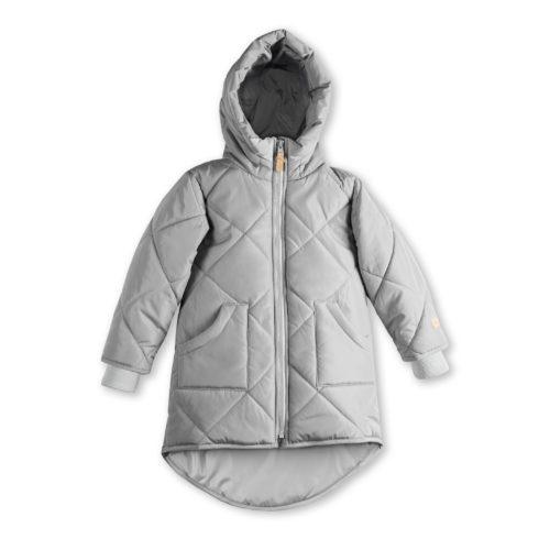 szara kurtka dla dziecka